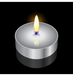Remembrance candle vector