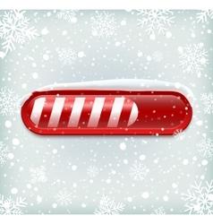 Christmas loading bar vector
