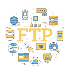 Round linear concept of ftp vector