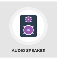 Speakers flat icon vector