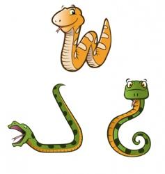 pythons vector image