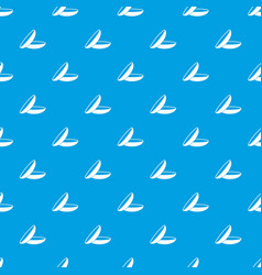 Contact lenses pattern seamless blue vector