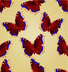 Seamless texture butterfly nymphalis antiopa vector