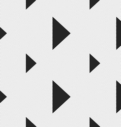 Play button icon sign seamless pattern with vector