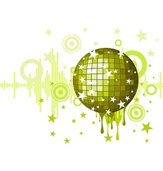 Musical background for party vector