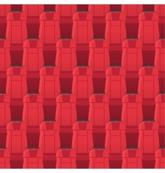 Cinema seats seamless pattern endless texture vector