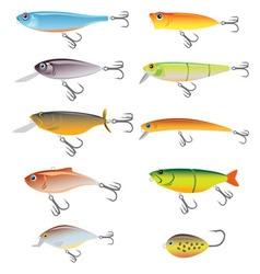 Fishing bait vector