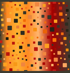Glowing rounded square pattern seamless vector