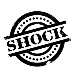 Shock rubber stamp vector