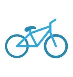 Bicycle vehicle icon vector