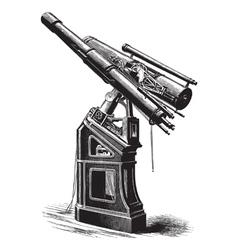 Equatorial telescope vector