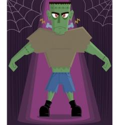 frankenstein monster vector image vector image