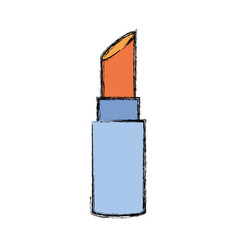 Lipstick make up vector