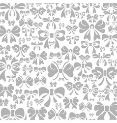 Bow a background vector
