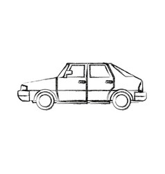 Coupe car automobile transport motor wheel vector