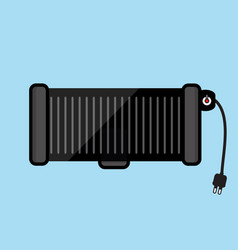Electric grill vector