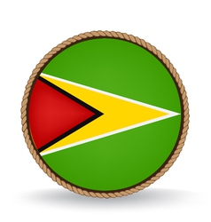 Guyana seal vector
