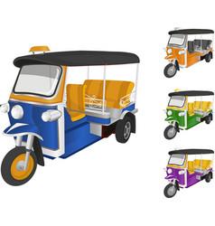 Tuktuk car vector