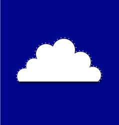 Cloud royal vector