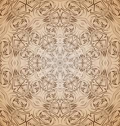 Abstract pattern in beige and brown vector