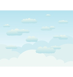 Background the sky2 vector image