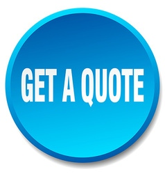 Get a quote blue round flat isolated push button vector