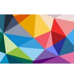 Abstract triangle technology background design vector image vector image