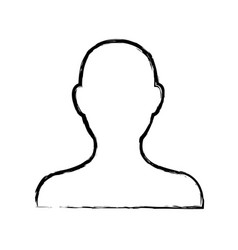 Avatar people web character image vector