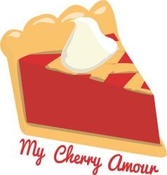 My cherry amour vector