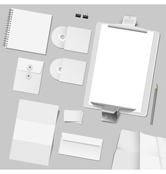 Corporate template design vector