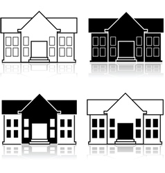 Fancy house vector