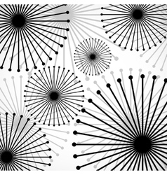 Abstract background from circle vector image vector image
