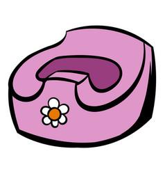 baby pot icon cartoon vector image