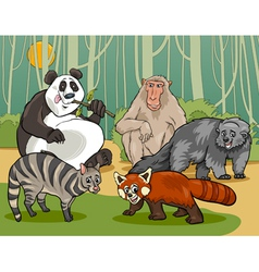 mammals animals cartoon vector image vector image