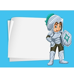 Paper design with knight vector