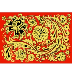 Russian ornament vector image vector image