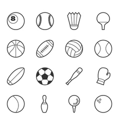 Set of sport icons eps10 format vector image