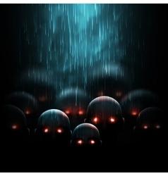 Zombie apocalypse vector