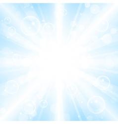 summer lights vector image
