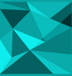 green low poly design element background vector image