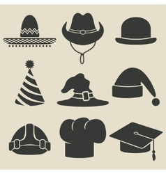 Party hat icon vector