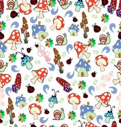 Children seamless texture vector