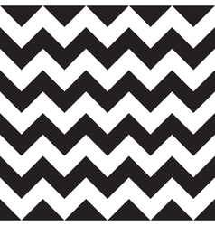 Black Chevron Seamless Pattern vector image vector image