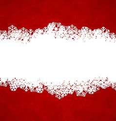 Christmas red background with copyspace vector
