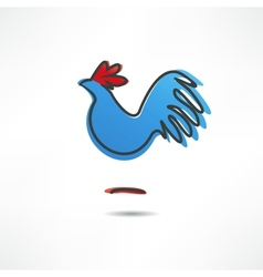 Cock vector image vector image