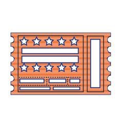 Entrance ticket paper vector