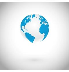 Globe Symbol vector image vector image
