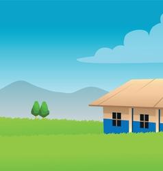 school Africa vector image vector image