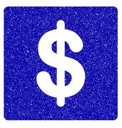 financial icon grunge watermark vector image