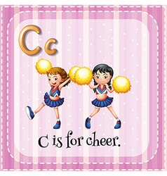 Cheer vector image